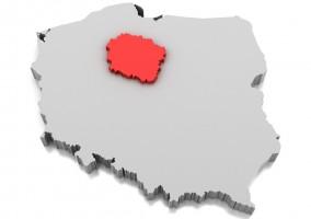 Map of Kuyavian-Pomeranian